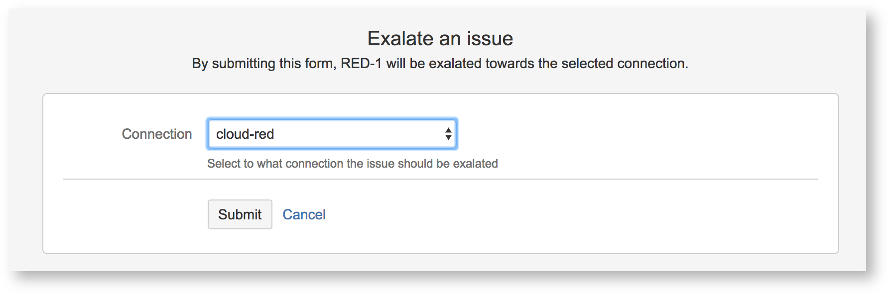 Triggering a synchronization for JIRA - Exalate