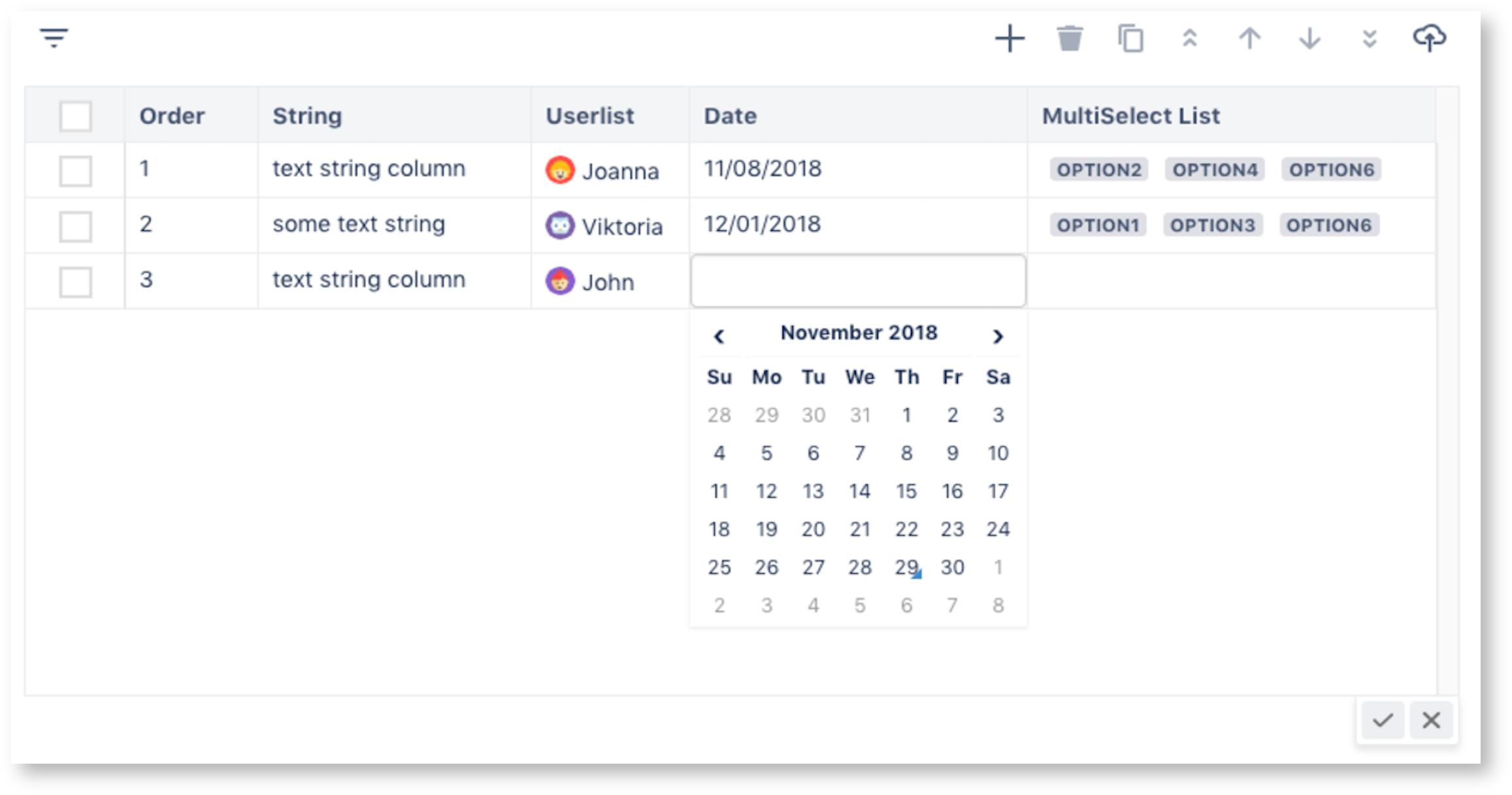Overview - TGNG documentation - Table Grid Cloud Documentation