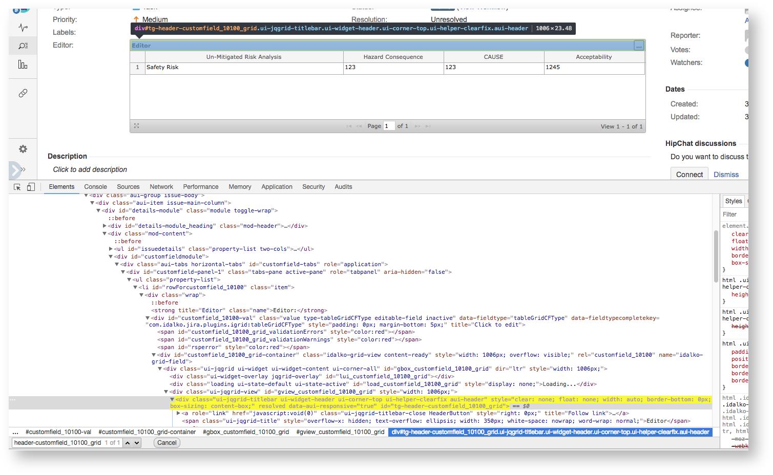HTML Markup - TGNG documentation - Table Grid Editor Documentation